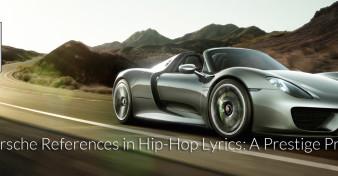 Porsche Lyrics in Hip-Hop Songs