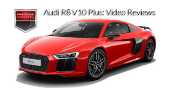 Audi R8 V10 Plus: Video Reviews