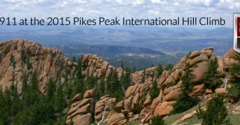 Porsche 911 at the 2015 Pikes Peak International Hill Clim