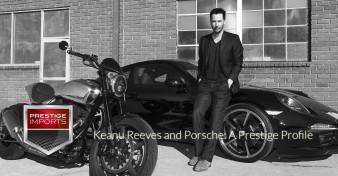 Keanu and Porsche