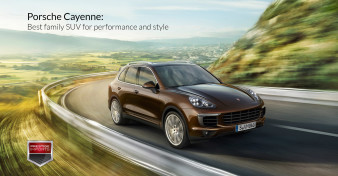 Porsche Cayenne - Best family SUV for performance and style