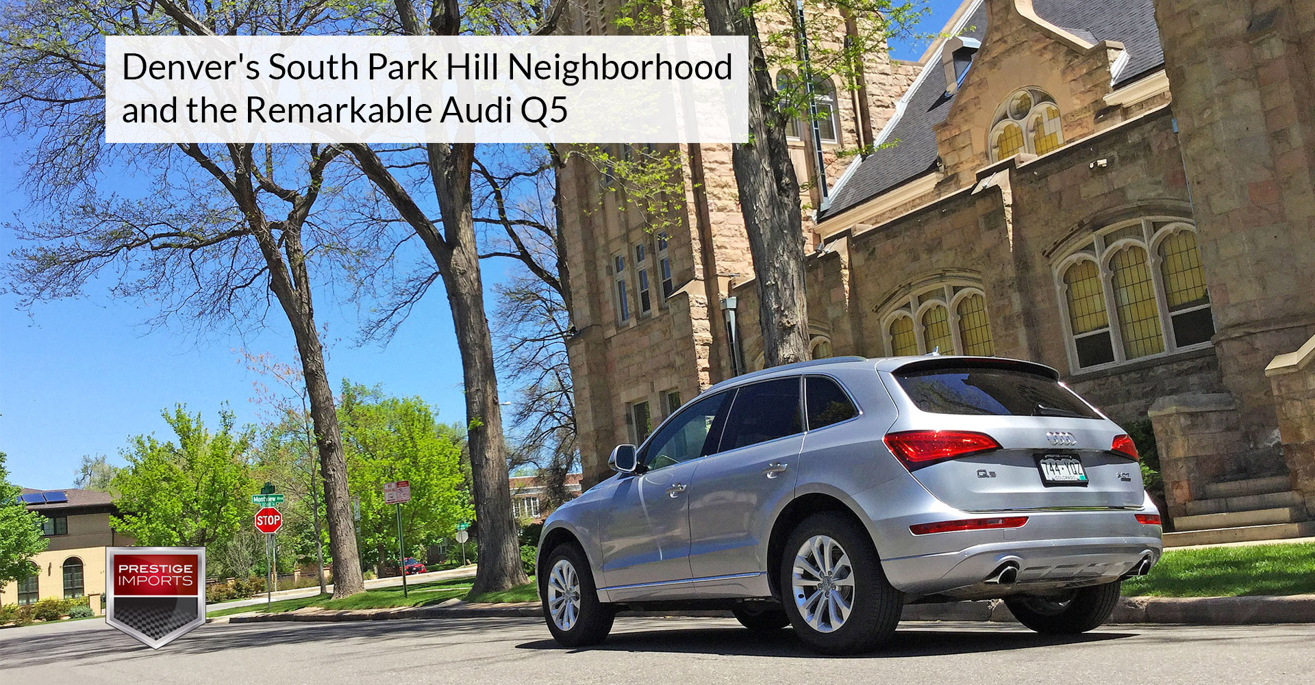 Denver u0027s south park hill neighborhood and the audi q5