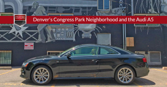 Denver's Congress Park Neighborhood and the Audi A5