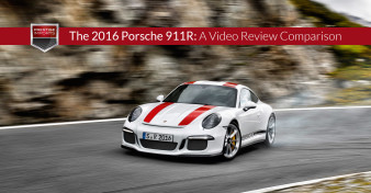 The 2016 Porsche 911R - A Video Review Comparison