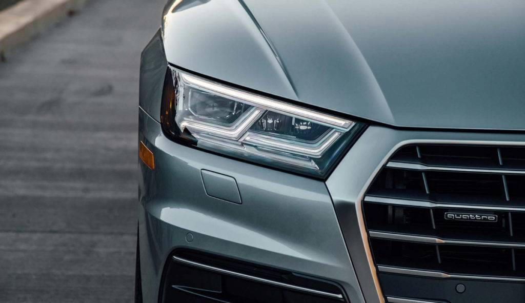 2018 Audi Q5 headlight