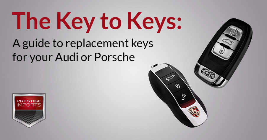 The Key to Keys - A guide to replacement keys for your Audi
