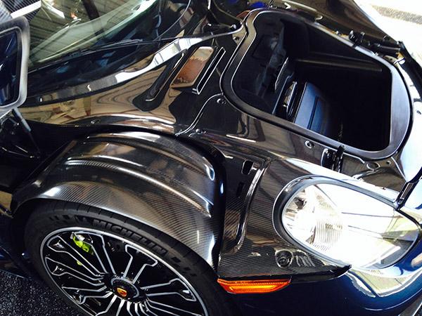 Porsche 918 Spyder Review Engine