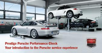 porsche performance check