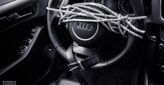 50 Shades - Steering Wheel, Rope and Belt