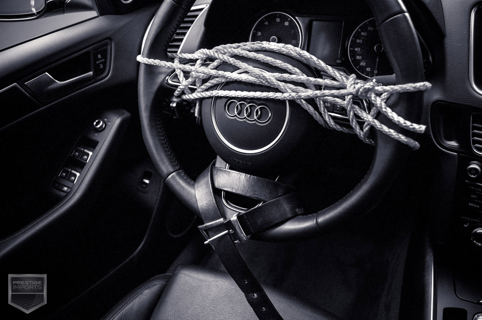 Fifty Shades Of Grey And Audi A Tantalizing Combination - Audi car in 50 shades of grey