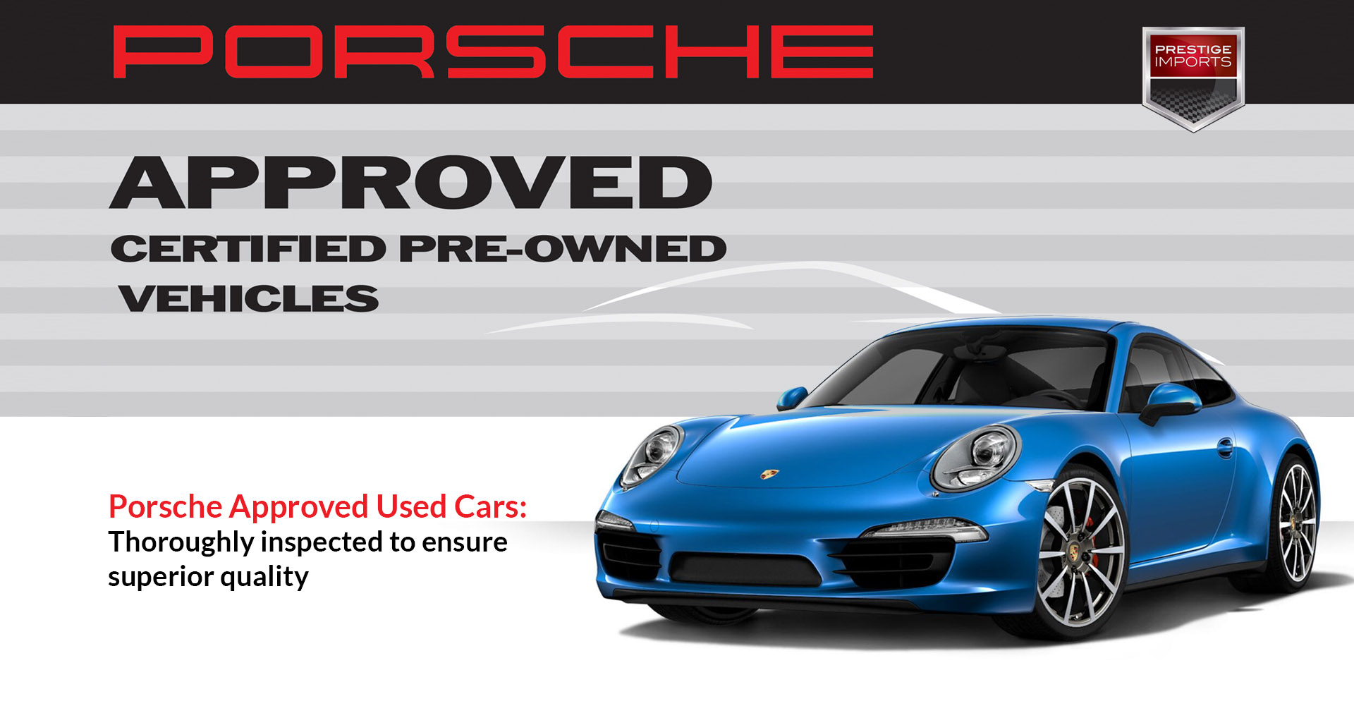 Porsche Certified Pre Owned >> Porsche Approved Used Cars Superior Quality Assured