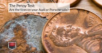 The Penny Test - Are the tires on your Audi or Porsche safe