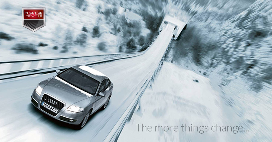 A Look Back At Two Classic Audi Television Commercials - Audi commercial