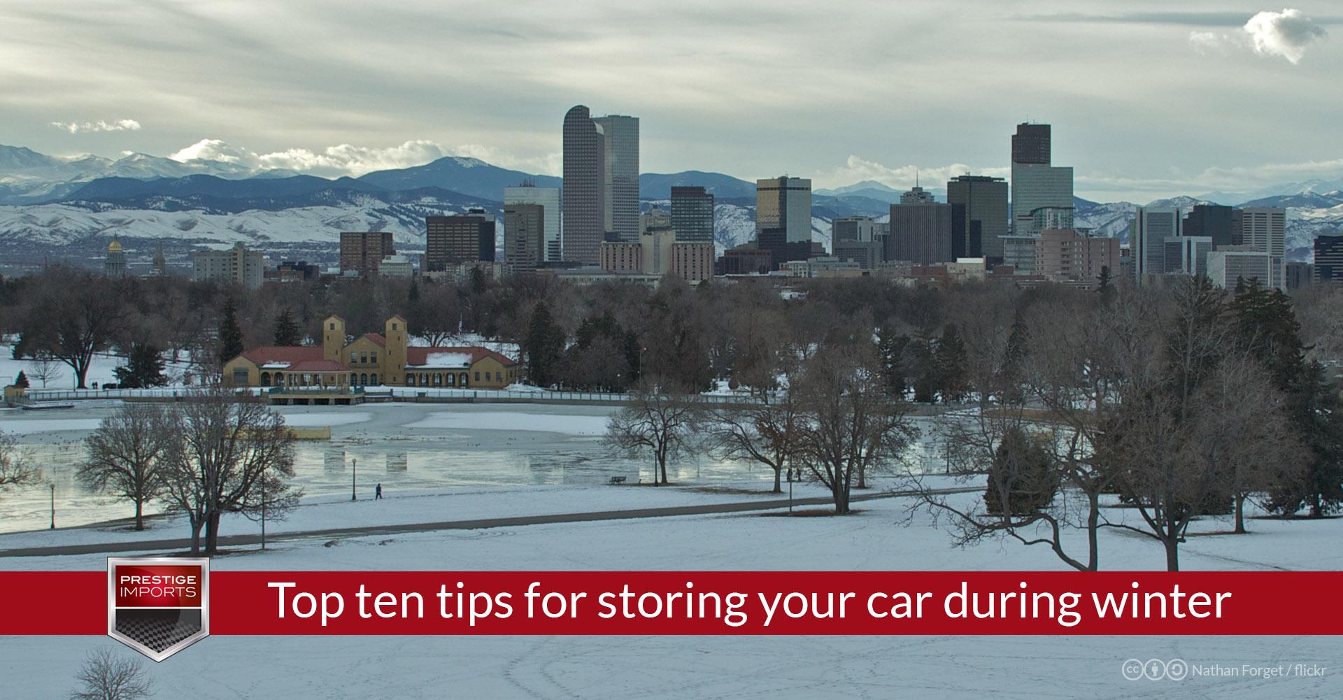 Indoor Car Storage Denver Dandk Organizer