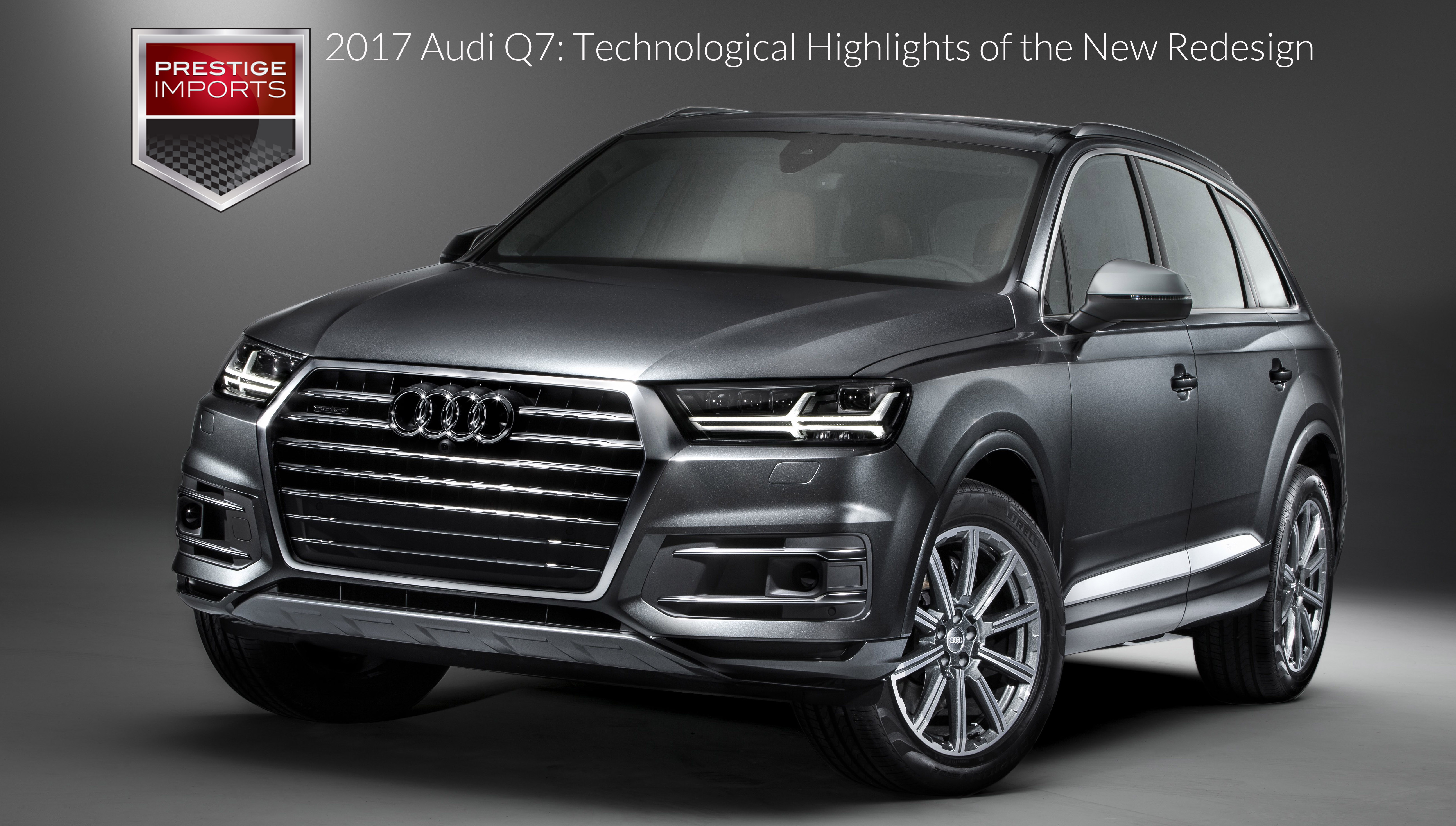 2017 audi q7 technological highlights of the new redesign. Black Bedroom Furniture Sets. Home Design Ideas