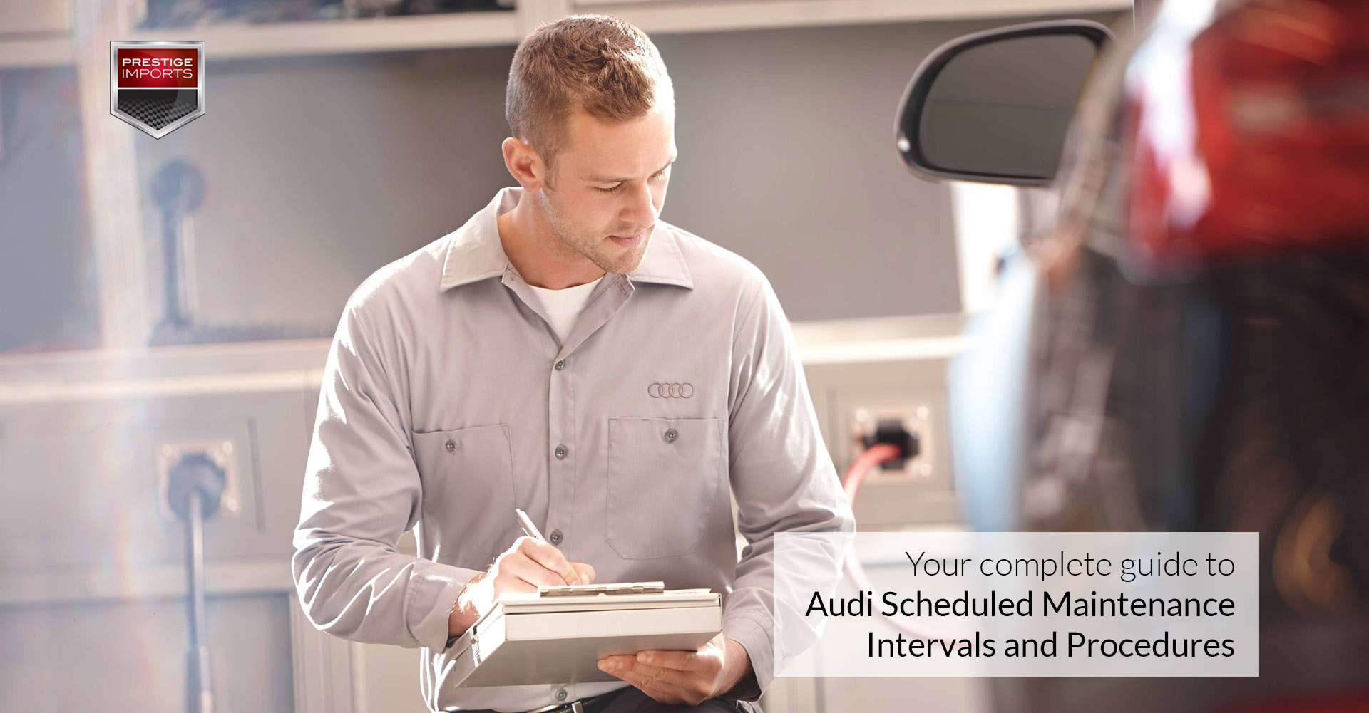 Audi Scheduled Maintenance Intervals And Procedures For