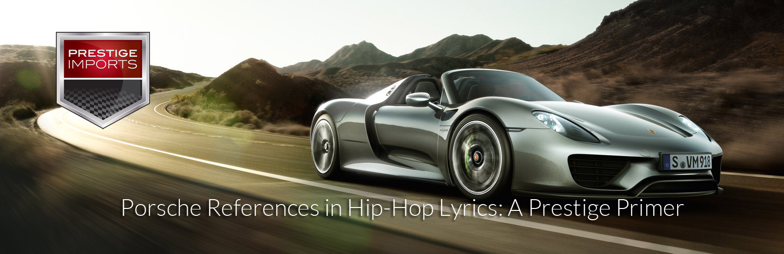 Porsche Lyrics in Hip-Hop Songs: A Prestige Primer