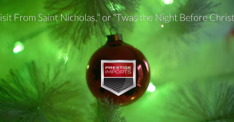 """""""A Visit From Saint Nicholas,"""" or """"Twas the Night Before Christmas"""""""