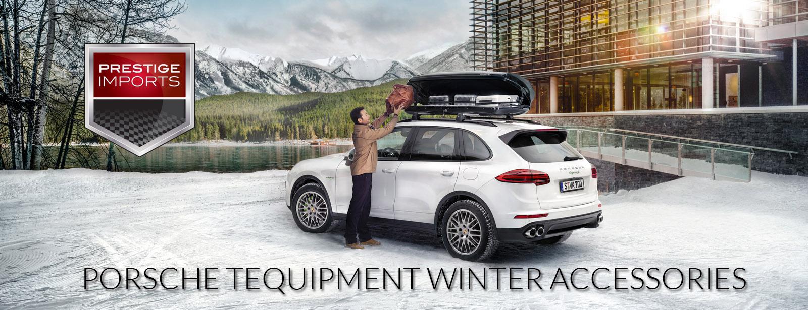 Porsche tequipment winter accessories at prestige imports publicscrutiny Choice Image