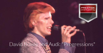 "David Bowie and Audi: ""Progressions"""