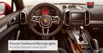 Porsche Dashboard Warning Lights - A comprehensive visual guide