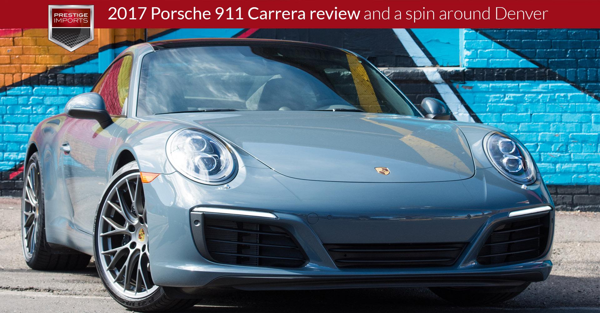 2017 porsche 911 carrera review and a spin around denver. Black Bedroom Furniture Sets. Home Design Ideas