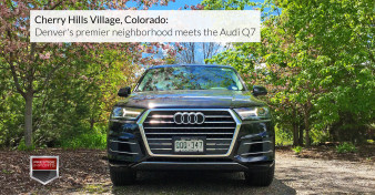 Cherry Hills Village, Colorado - Denver's premier neighborhood meets the Audi Q7