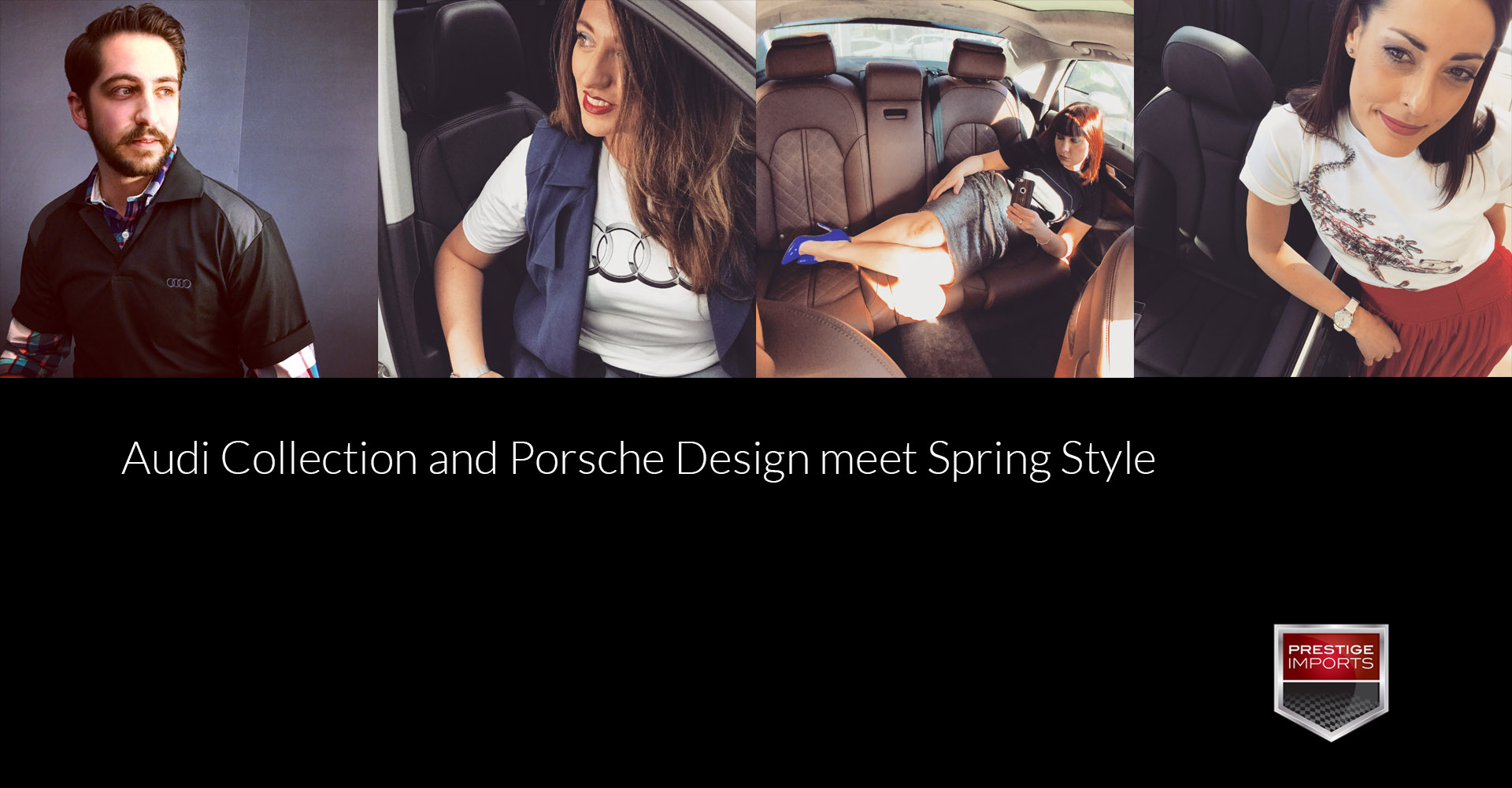 Audi Collection And Porsche Design Meet Spring Style
