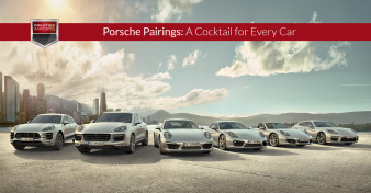 Porsche Pairings - A Cocktail for Every Car