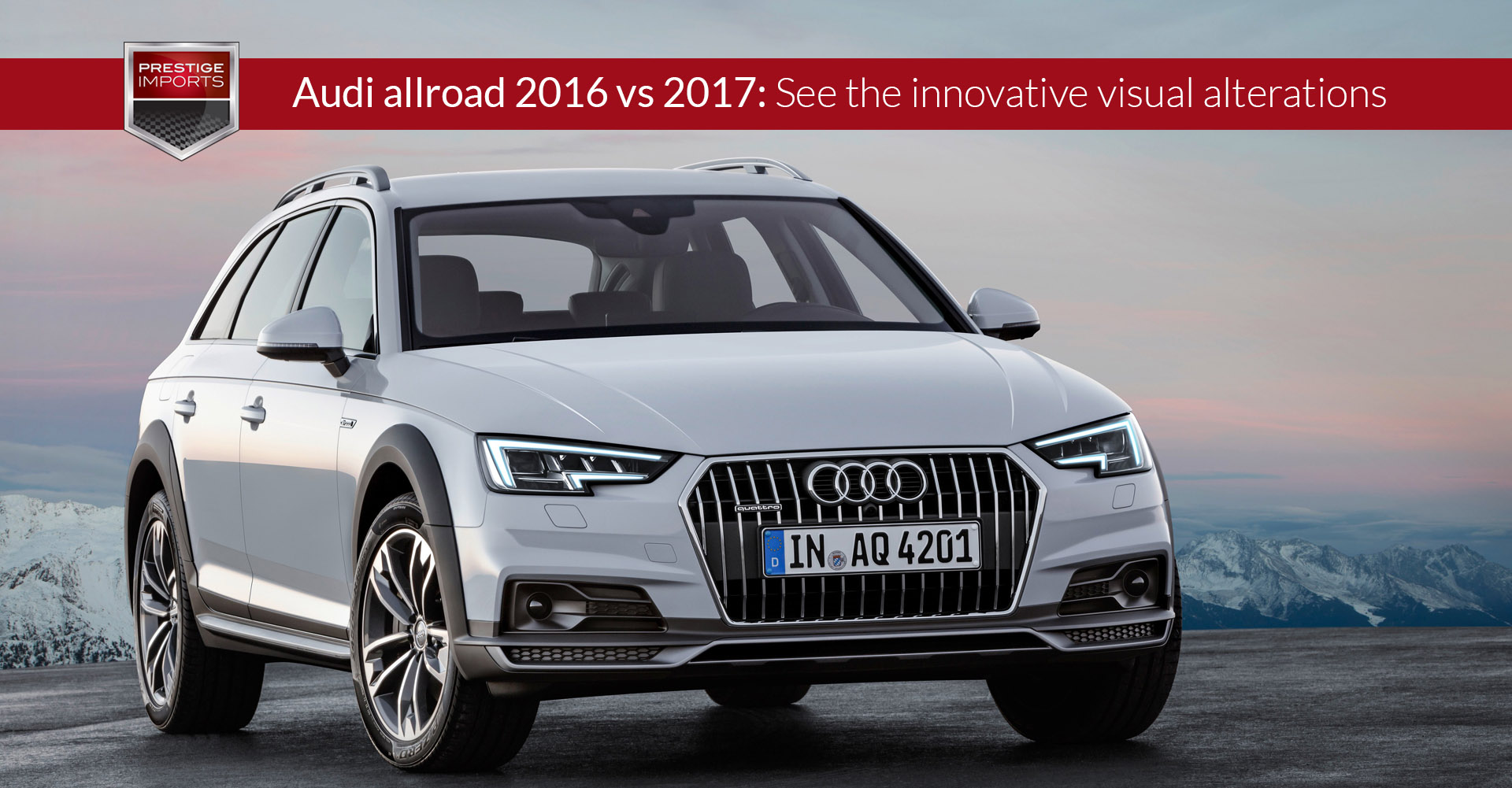 Audi allroad 2016 vs 2017: See the innovative visual alterations