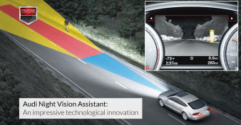 Audi Night Vision Assistant - An impressive technological innovation