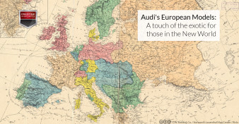 Audi's European Models - A touch of the exotic for those in the new world