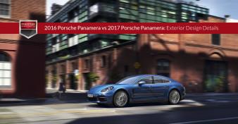 2016 Porsche Panamera vs 2017 Porsche Panamera - Exterior Design Details
