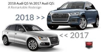 2018 Audi Q5 Vs 2017 Audi Q5 - A Remarkable Redesign