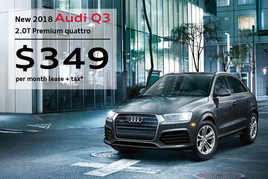 New 2018 Audi Q3 2.0T Premium quattro 4D Sport Utility