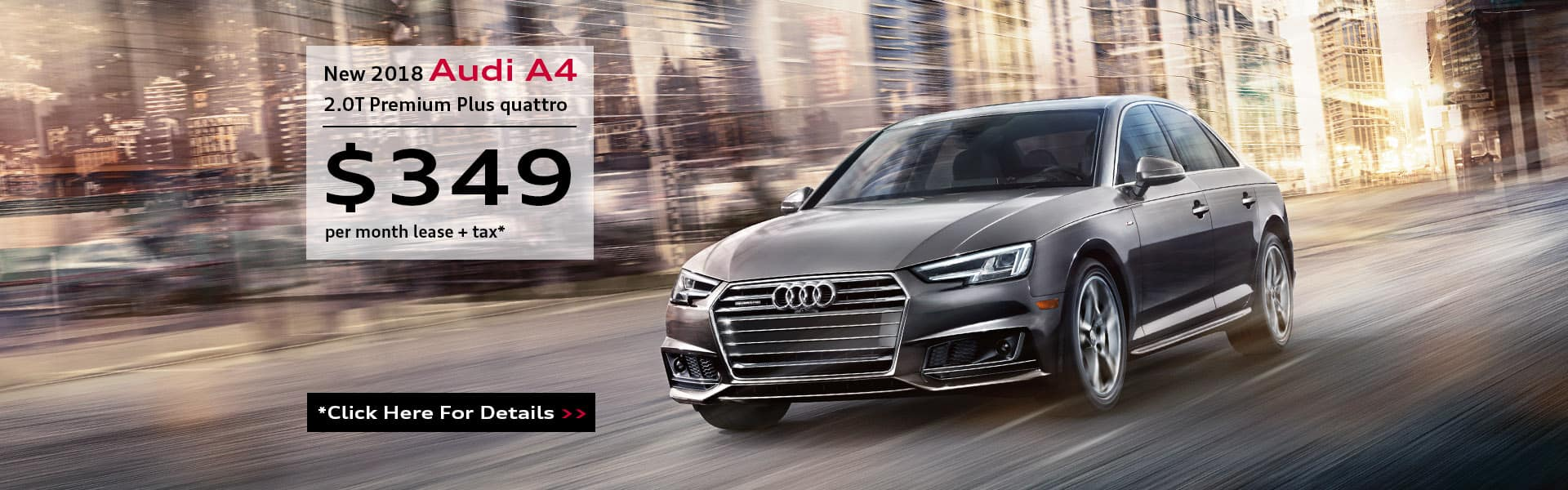 A4 Lease Specials - 349 per month