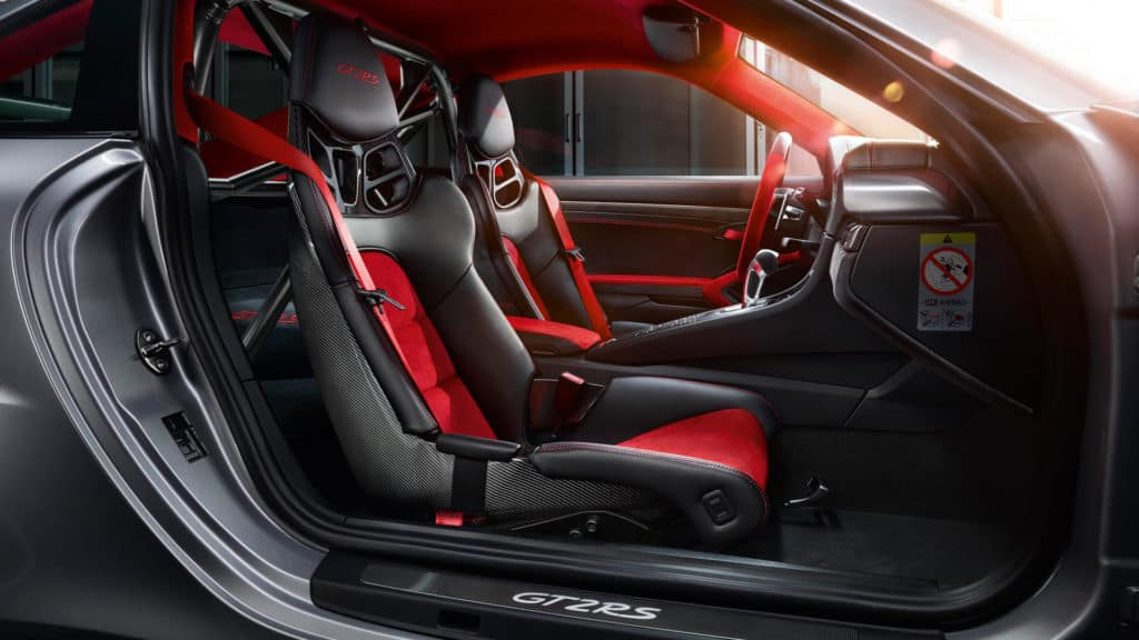 Porsche 911 GT2 RS - Best Porsche Ever - Interior