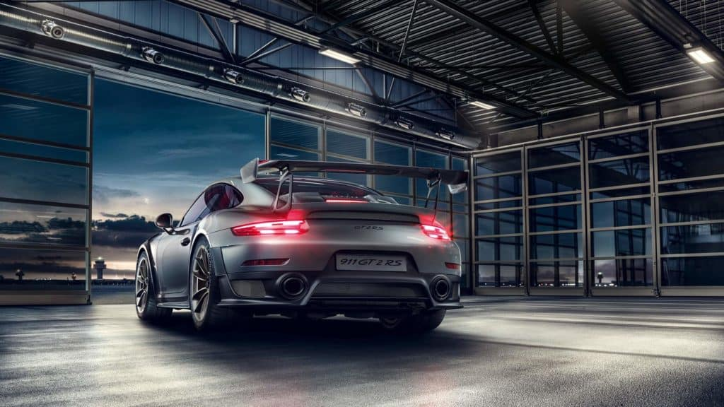 Porsche 911 GT2 RS - Best Porsche Ever - rear end details