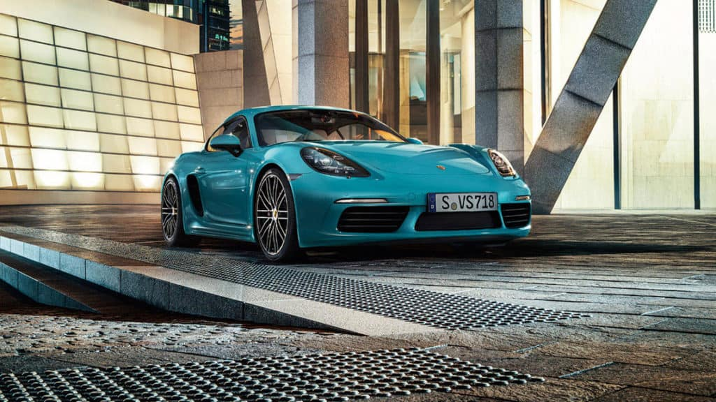 2018 Porsche 718 Cayman - Styling