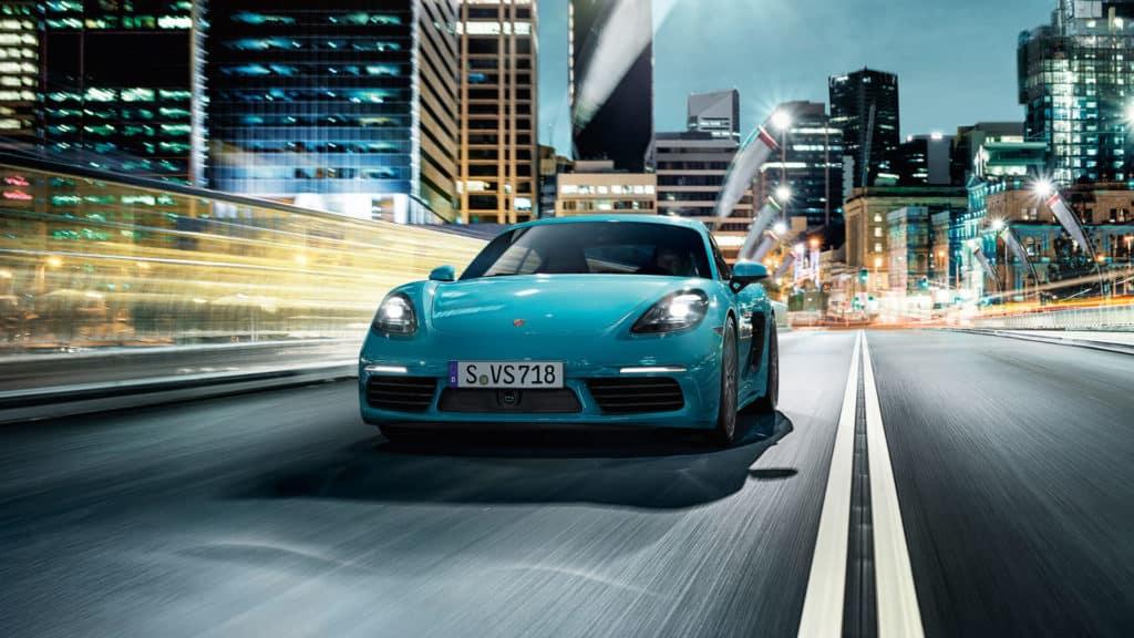 2018 Porsche 718 Cayman - On City Streets