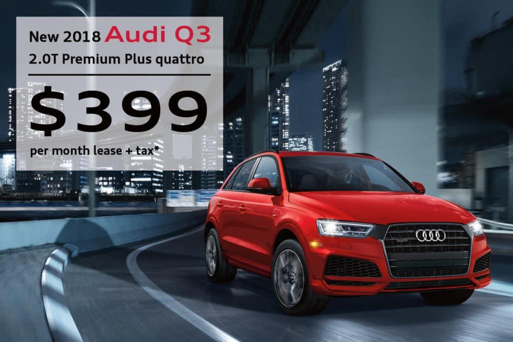New 2018 Audi Q3 2.0T Premium Plus quattro