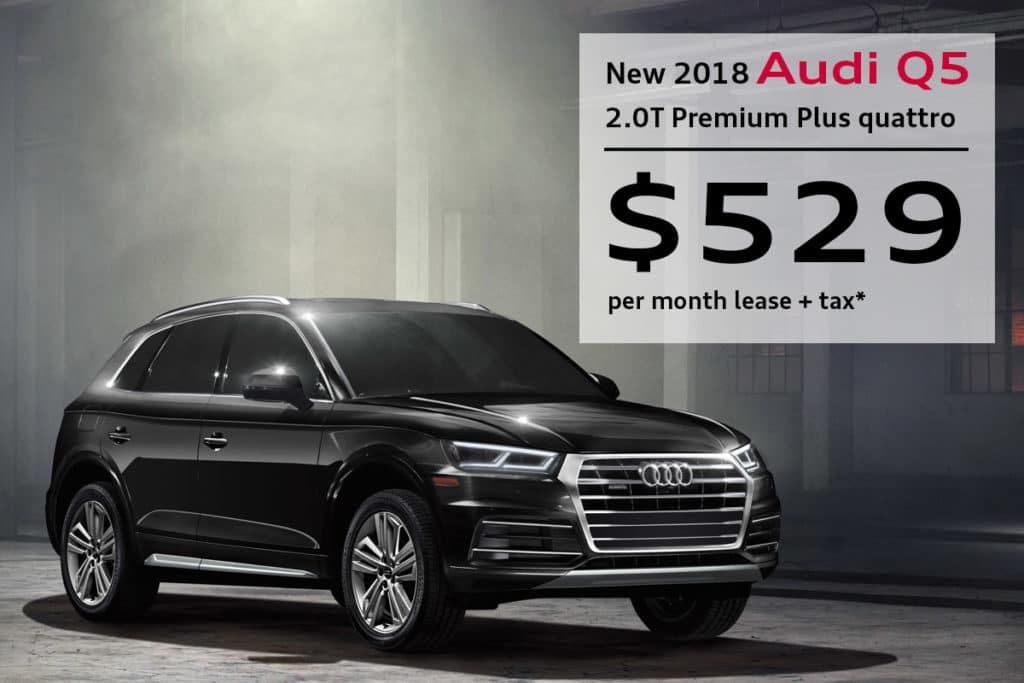 New 2018 Audi Q5 2.0T Premium Plus quattro