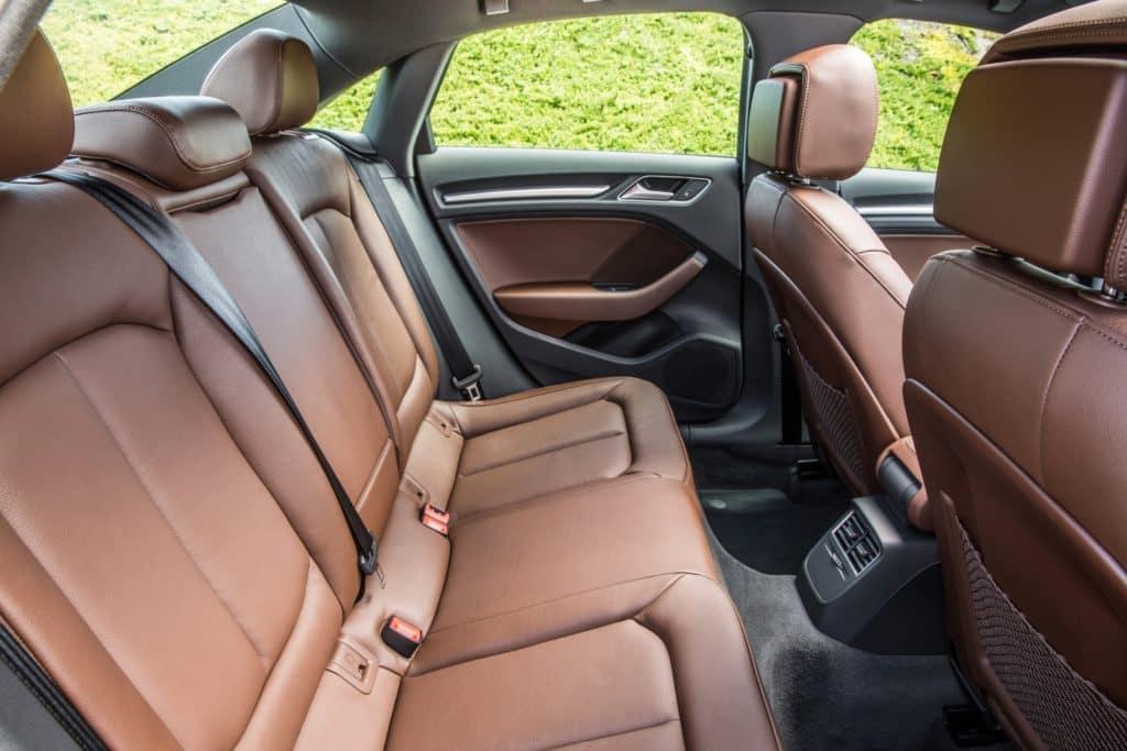 2018 Audi A3 - Rear Seats
