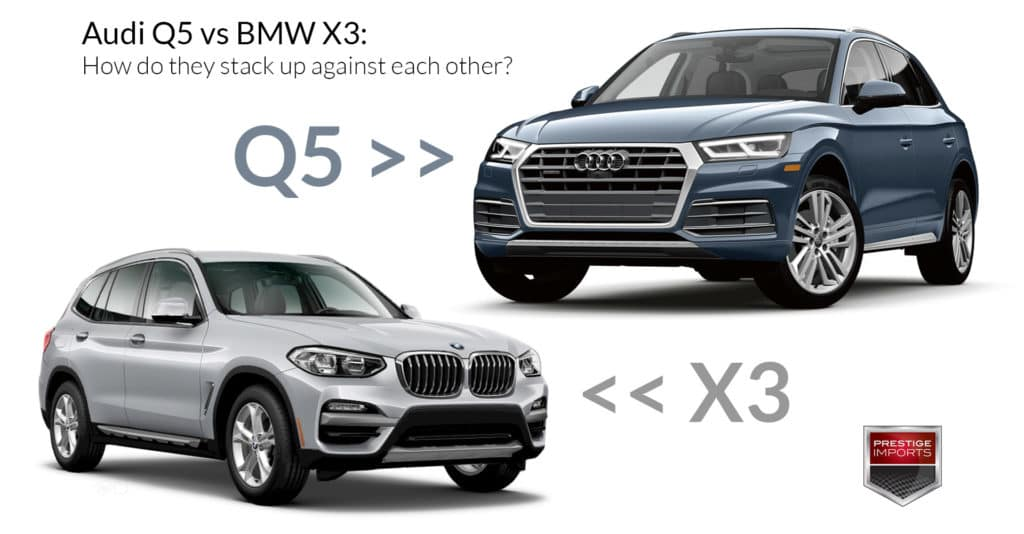 Audi Q5 vs BMW X3 - How do they stack up against each other?