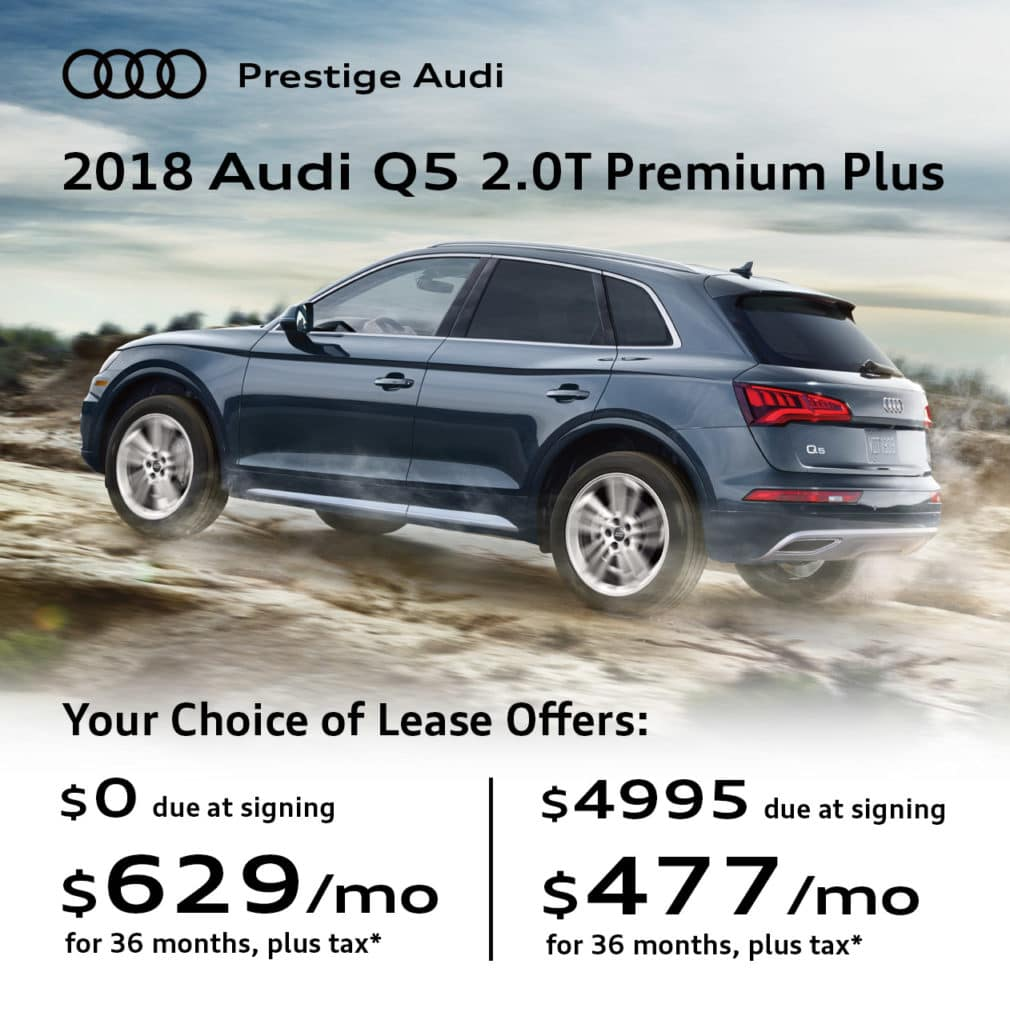 New 2018 Audi Q5 Premium Plus quattro