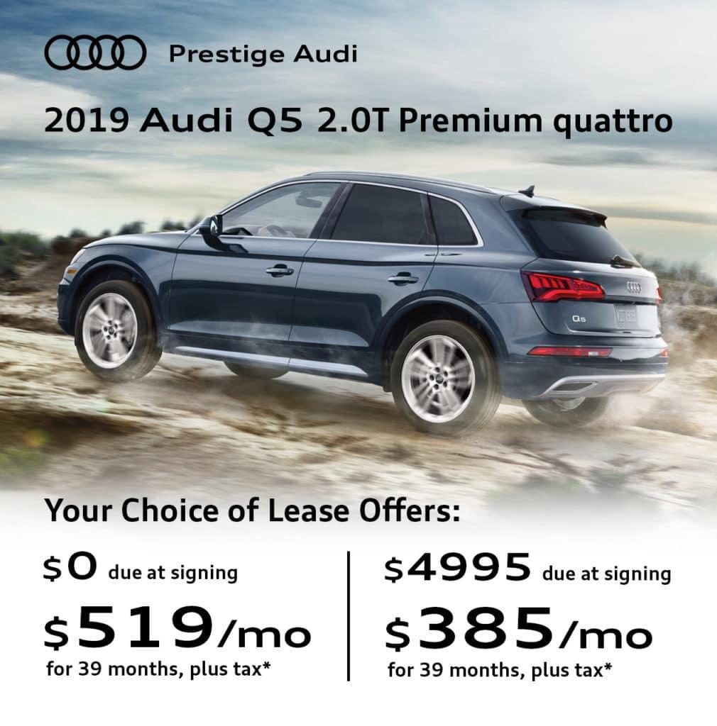 New 2019 Audi Q5 2.0T Premium quattro 4D Sport Utility