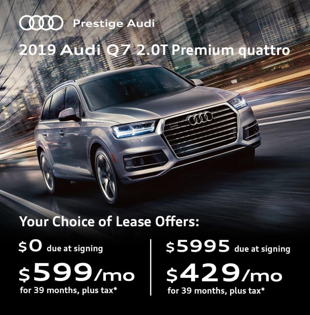New 2019 Audi Q7 2.0T Premium quattro