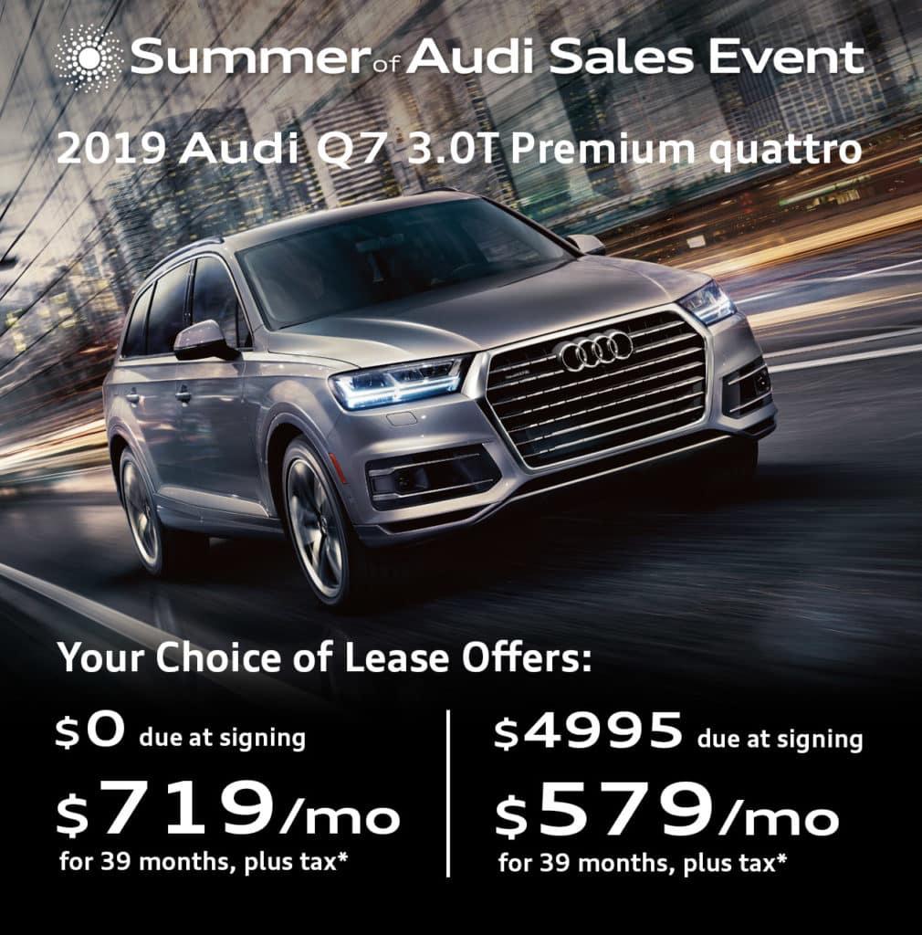 New 2019 Audi Q7 3.0T Premium quattro