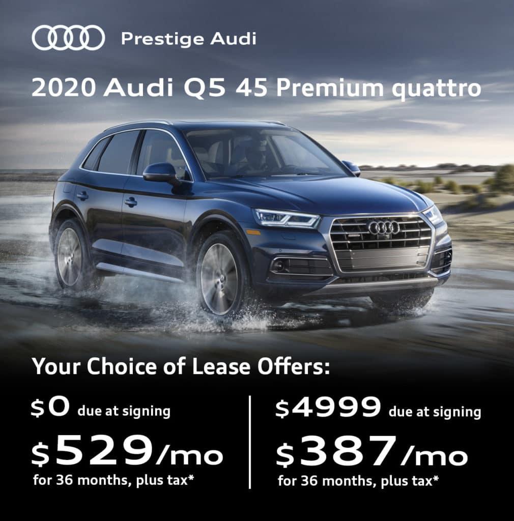 New 2020 Audi Q5 45 Premium quattro
