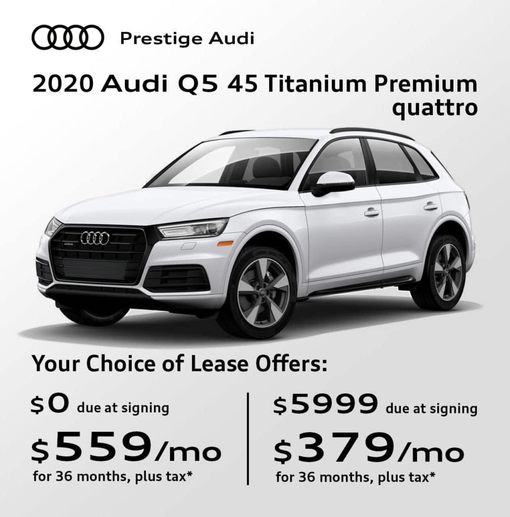 New 2020 Audi Q5 45 Titanium Premium quattro